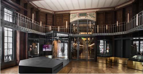 La Rotonde, dédiée aux collections des Arts du spectacle