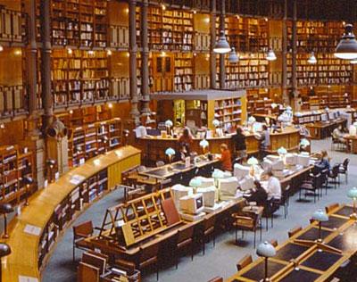 Bibliothèque Nationale - La salle des périodiques de Jean-Louis Pascal