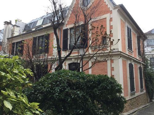 N° 13 avenue Frochot