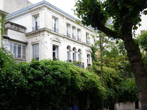 N° 3 avenue Frochot