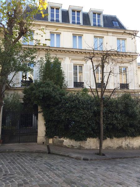 N° 7 avenue Frochot