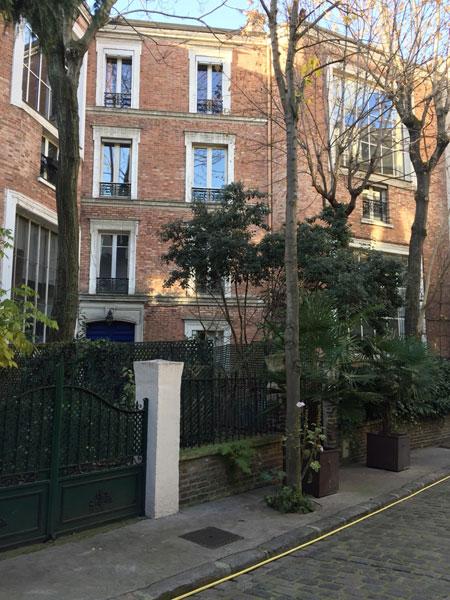N° 8 avenue Frochot