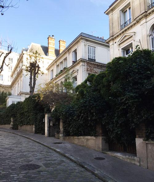 L'avenue Frochot