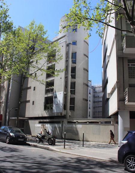 Cité d'artistes Rue Balard