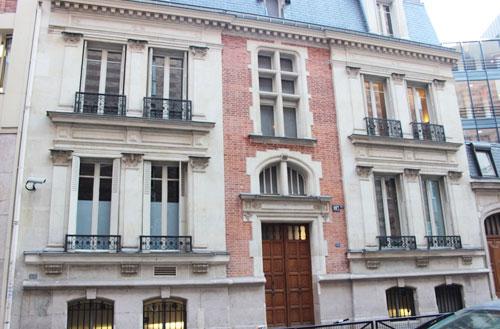 L'école alsacienne - L'hôtel du n°107-bis rue Notre-Dame des Champs
