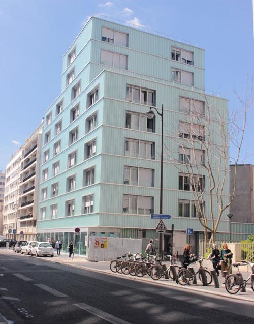 L'immeuble de 30 logements sociaux