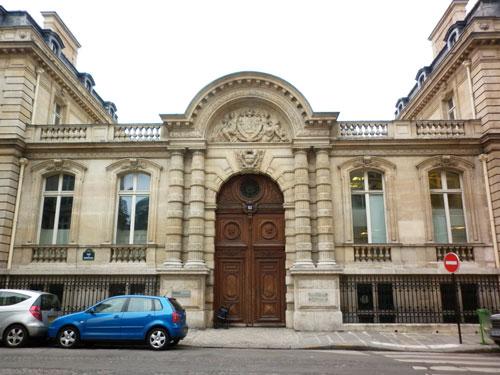 L'hôtel Abraham-Béhor de Camondo - Le portail sur rue