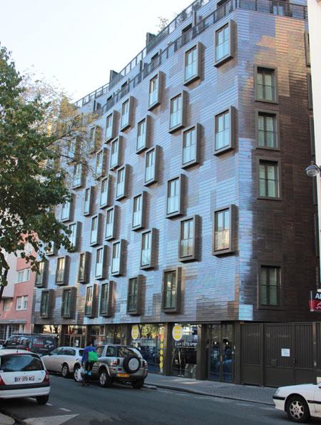 Immeuble de logements - Façade sur le boulevard de Grenelle