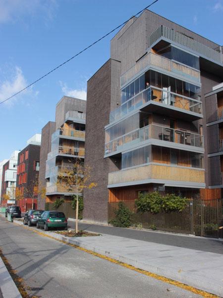 Logements Rue Jorge Semprun - Les jardins d'hiver créent une double peau