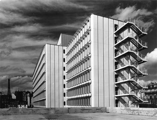 Le bâtiment V de l'Unesco