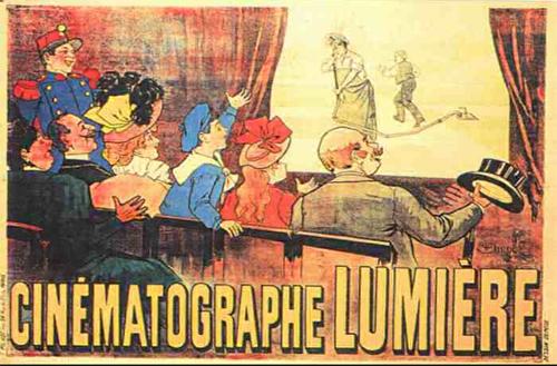 Affiche pour le cinématographe Lumière