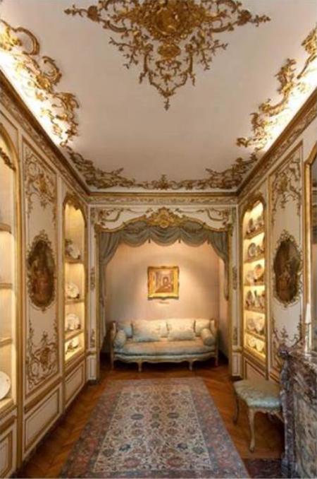 L'hôtel de Besenval : le boudoir