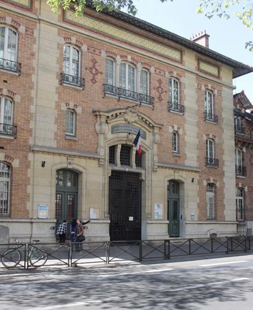L'hôpital Boucicaut : l'ancienne entrée