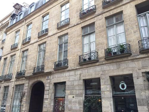 L'hôtel Dupin : la façade sur la rue