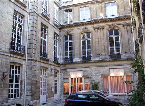 L'hôtel Dupin : la cour
