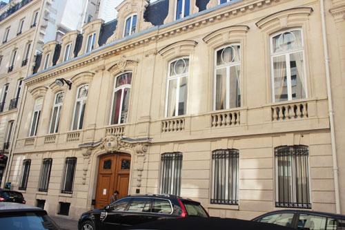 L'hôtel de Saint-Paul - La façade sur rue