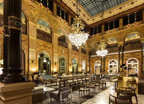 Hôtel Le Hilton Paris Opéra - Le Grand Salon, véritable chef d'œuvre du style Napoléon III