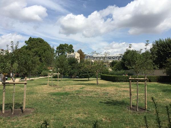 Le jardin Catherine Labouré
