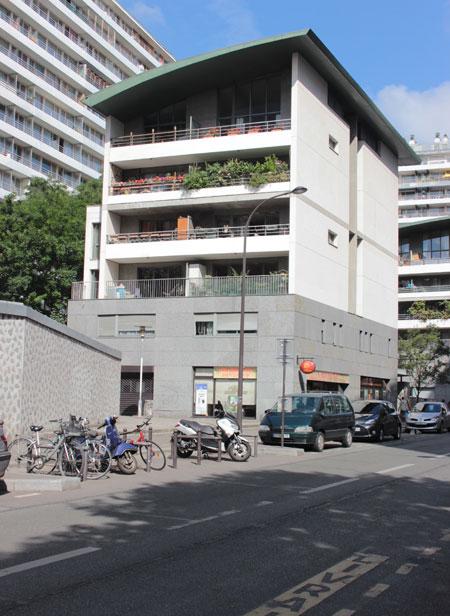 Logements Rue Nationale : l'un des deux plots