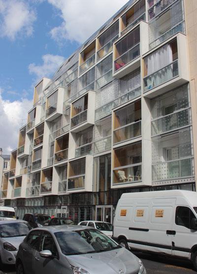 Crèche et logements rue Riquet