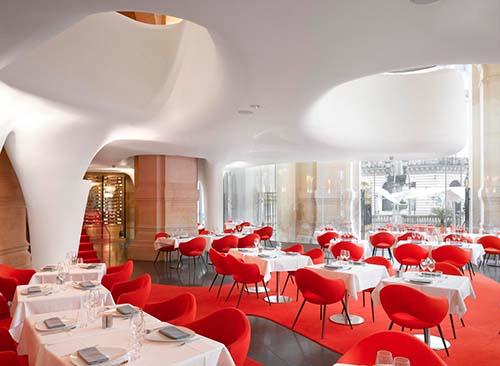 L'Opéra Restaurant - La salle au rez-de-chaussée