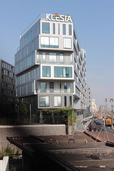 L'immeuble de bureaux Strato