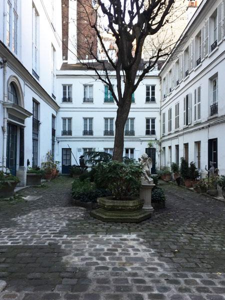 Cour ancienne Rue Monsieur Le Prince