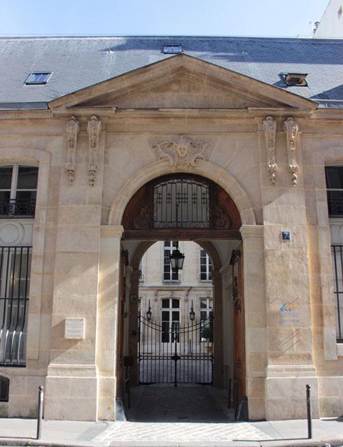 L'hôtel de Beaune : le portail