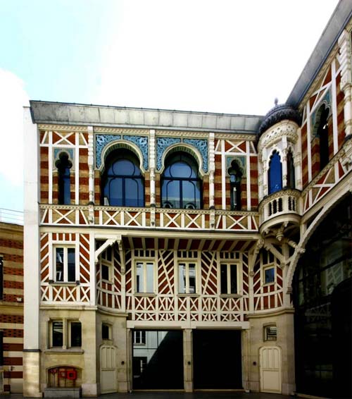 L'hôtel Gaston Menier - Les communs de style normando-mauresque