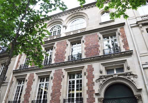 L'hôtel Gaston Menier  - La façade sur l'avenue