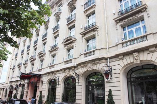 Le Royal Monceau Raffle Paris - La façade sur l'avenue Hoche
