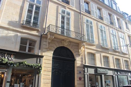 L'hôtel de Ségur - La façade sur la rue