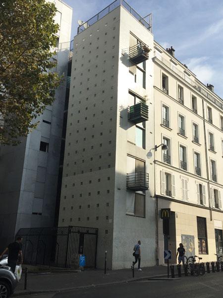 Immeuble de logements rue Obertkampf