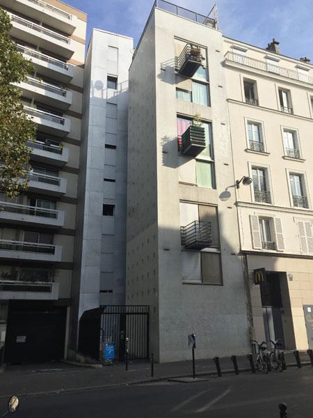 Immeuble de logements rue Oberkampf