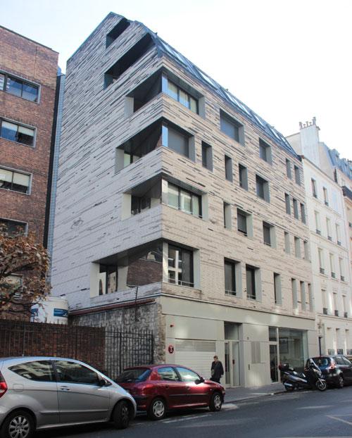 Immeuble de logements Rue du docteur Roux