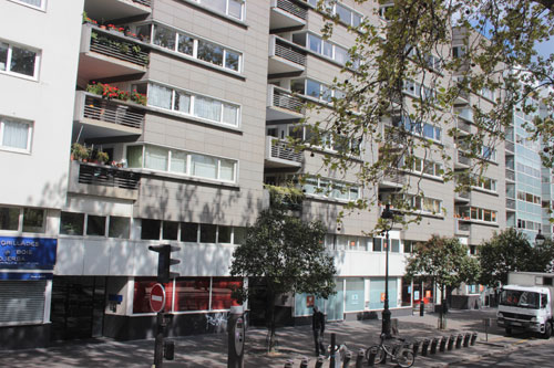 Logements sociaux quai de Seine