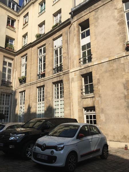 L'hôtel Cornuel - L'aile droite
