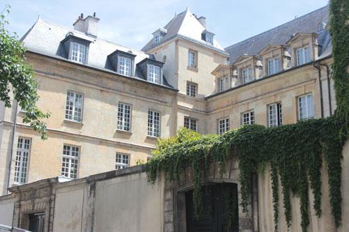 l'hôtel Le Peletier de Souzy vu de la rue des Archives