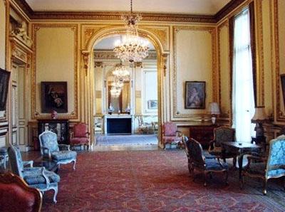 L'hôtel de La Trémoille : les salons de réception