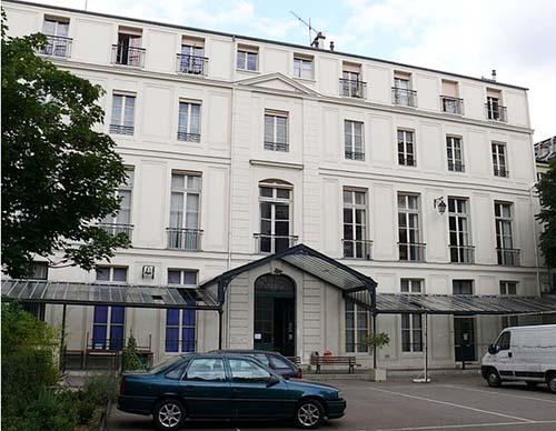 Le lycée Fénelon : l'hôtel de Villayer