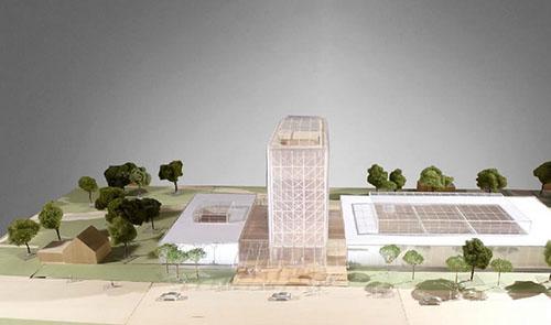 Projet de rénovation du musée des Arts et Traditions populaires - Maquette du projet