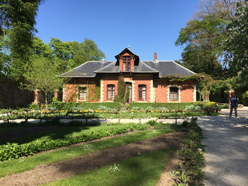 Le parc de Bagatelle - La maison du jardinier