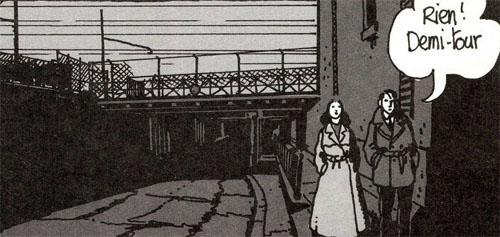 La rue Watt illustrée par Tardi