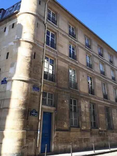 La communauté de Sainte-Aure : le bâtiment de Claude-Martin Goupy au n°20 rue Tournefort