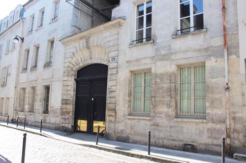 La communauté de Sainte-Aure : l'ancienne entrée du couvent au n° 16 rue Tournefort
