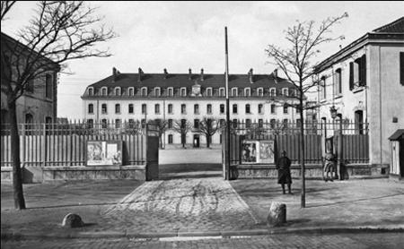 La caserne des Tourelles - Photographie ancienne