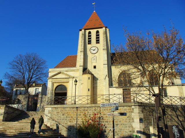L'église Saint-Germain de Charonne