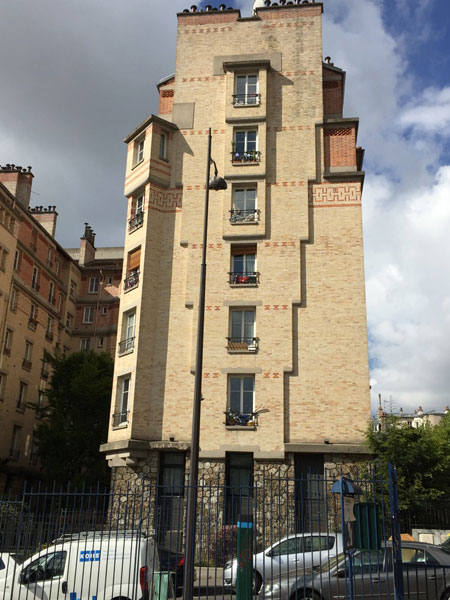 Les HBM Rue de Ménilmontant