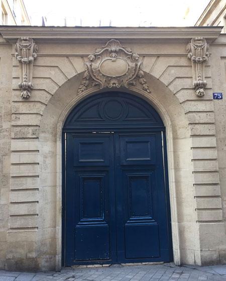L'hôtel de La Tour du Pin - Le portail