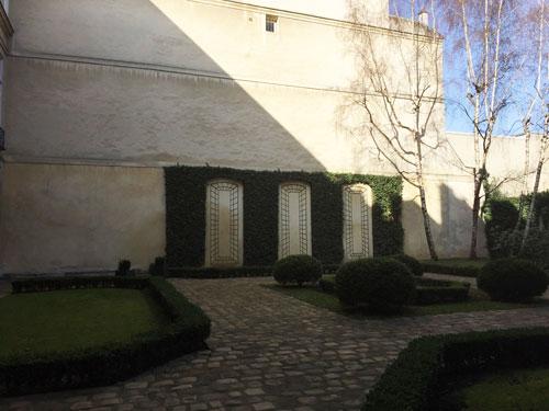 L'hôtel de La Tour du Pin - Le jardin